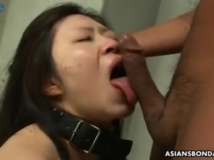 Busty brunette from Japan Eri Kitahara gets fucked doggy rather hard