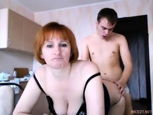 Russian amateur webcam couple