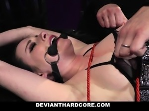 DeviantHardcore -  Submissive Whore Fucked In The Ass