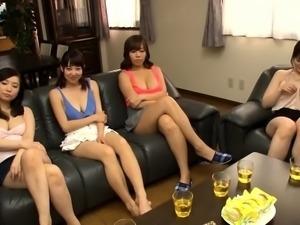 Stunning Asian ladies satisfying their desire for hard meat