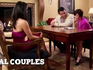 Chris and Maribel share and care about fucking other couples
