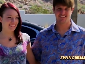 Gorgeous swingers get ready for the steamiest night ever