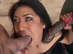 Real versatile slut Lyla is eager to try out some hard double penetration