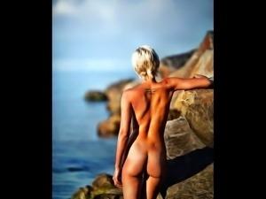 Alia Basilefska enthralls her elegant body
