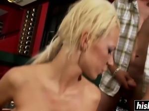 Beautiful girls like to share big cocks