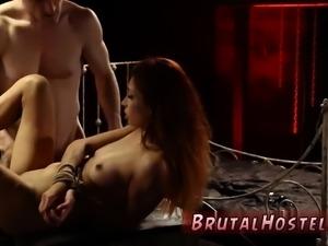 Strap on anal bondage first time Poor lil' Jade Jantzen,