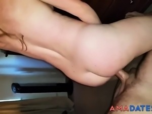 My neighbor wife likes to ride a good cock