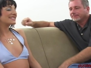 Teen girl for casting fucked by old man