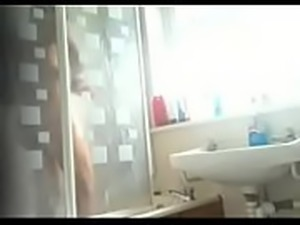 Teen Girl Bath Caught by Hidden Cam