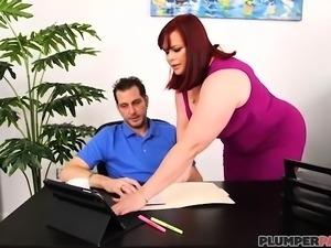 Office Slut Marcy Diamond Fucks Her Boss To Keep Her Job
