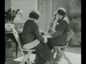 Tea with Honey in 1920 (vintage bi)