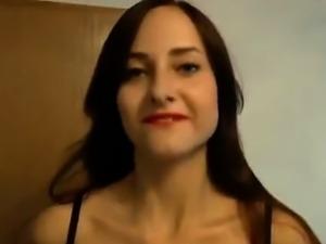 Sexy Italian rookie whore beauty fucking