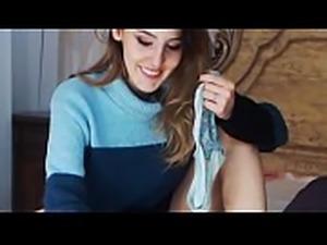 Girlfriend POV LaLaCams.com Real Teenage Masturbates Awesome Ass CRAZY
