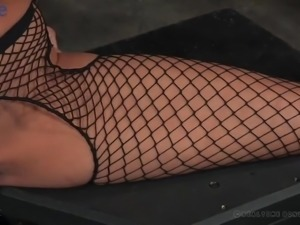 Some horny bondage session with submissive big breasted nympho Rain DeGrey