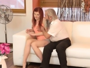 French daddy xxx Unexpected practice with an older gentleman