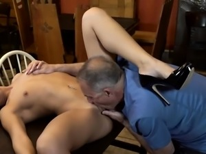 Daddy tied to bed and german old young first time Can you tr