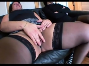 Sabrina and Mae fucked in a threesome