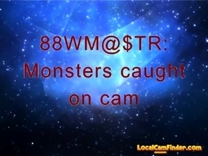 Monster BBW's caught on cam!!