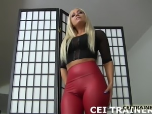 We are going to make you eat your own cum CEI