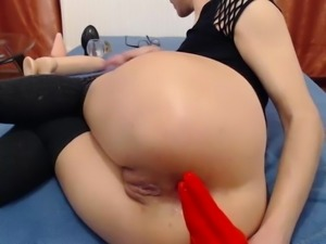 Huge toy play