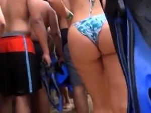Big Ass Blonde in Sexy Bikini