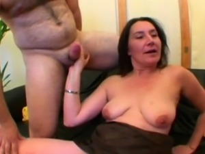 Barbara gangbanged at home