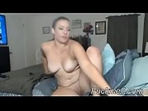 Fisting her then huge cumshot