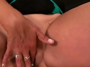 Busty blonde milf banged by black cock