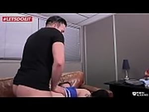 LETSDOEIT - Hot French Schoolgirl Used and Abused by her Teachers
