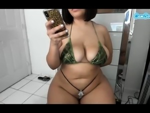 Black Ebony Masturbation webcam Very creamy