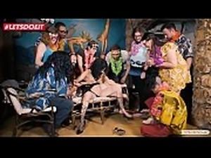LETSDOEIT - Mia Navarro Abused at Bondage Party