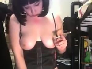 Hairy Slut Got Big Boobs