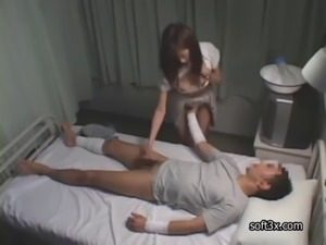 Outtime nurse blowjob