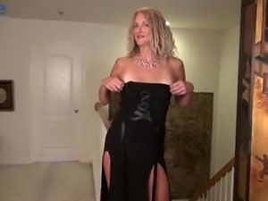 Curly cougar with freckles Zoe Marks goes nuts about masturbation