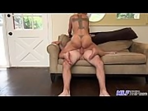 MILF Trip - Super horny blonde big-boobed MILF can&#039_t get enough cock