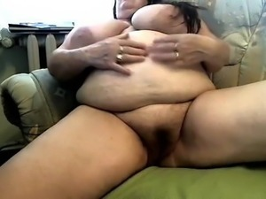 BBW Granny with fat cunt and big boobs! Amateur