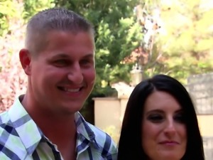 Swinger couple loves having intercourse in front of others
