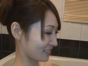 Marvelous Misa Yuki with great tits feels well on top