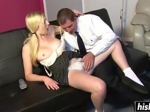 Emma wants his long fat cock