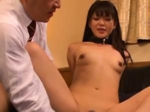 Aphrodisiac barely legal maid Aoi Mikuriya fucking