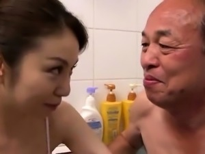 Shower Blowjob From Hot MILF