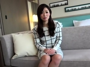 Slender Oriental milf takes every inch of dick in her pussy