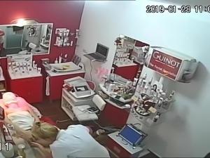 in salon shave hair