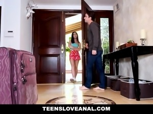 TeensLoveAnal - Cheating GF Gets Anal Fucked
