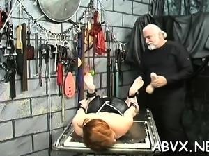 Large tits playgirl bizarre thraldom in slutty home scenes