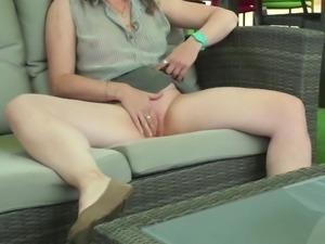 Masturbation in store