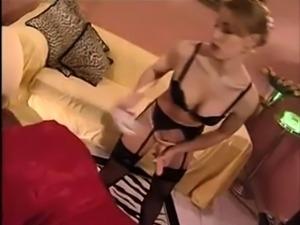 Deutsch Prostata-Massage und stapon Wer ist dieser BLONDE ??