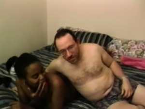 EDPOWERS - Ebony Amateur Viva sucking big cock before facial
