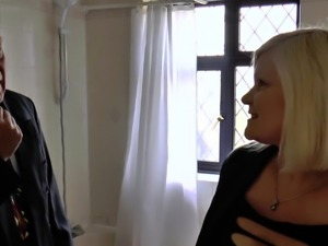 AgedLovE Lacey Starr Fucked Hard with Sales Agent