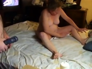 Curvy mature wife has a fiery cunt needing to be rammed hard